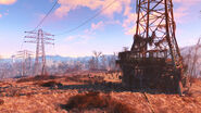 FO4 Abernathy farm sunrise