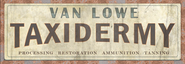 FO76 Van Lowe Taxidermy Logo