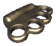 Fo1 brass knuckles