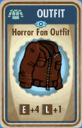 FoS Horror Fan Outfit Card