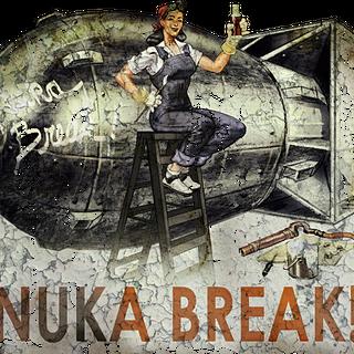 A Nuka-Cola billboard in <i><a href=