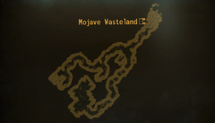 Coyote Mines local map