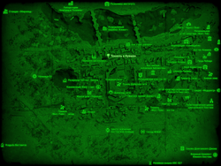 FO4 Тоннель в Кувшин (карта мира)