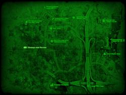 FO4 Убежище мэра Бостона (карта мира)