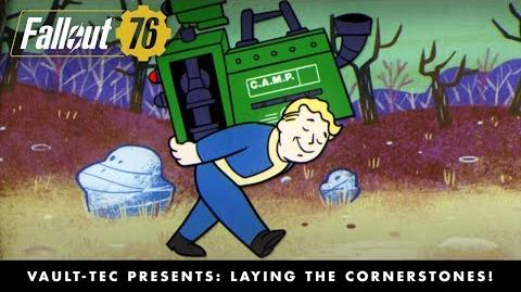 Fallout 76 – Vault-Tec Presents Laying the Cornerstones! Crafting and Building Video-0