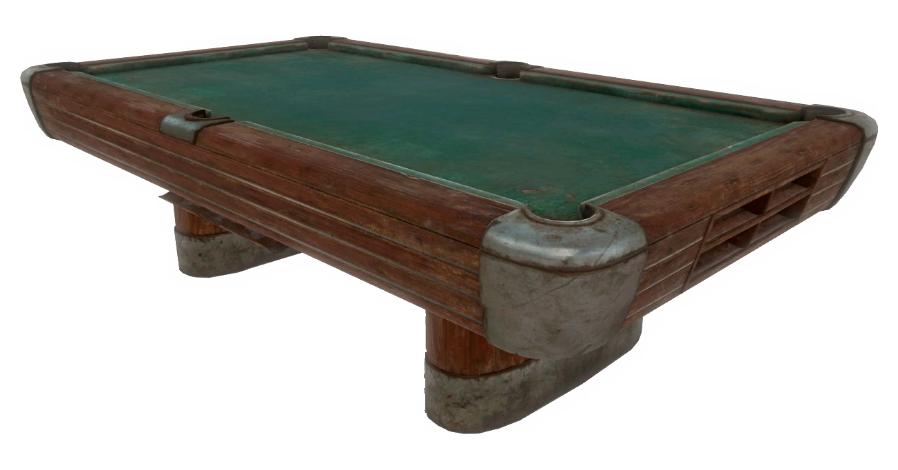 Pool Table Fallout Fallout Wiki FANDOM Powered By Wikia - Snooker table vs pool table