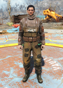 Fo4fh - Grey Fisherman's Overalls