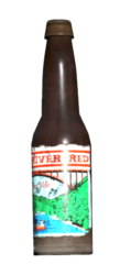 New River red ale bottle