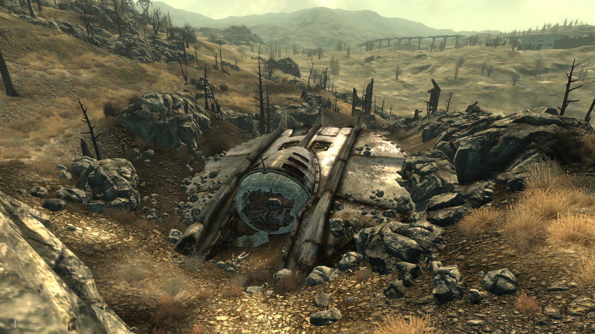 Alien crash site | Fallout Wiki | FANDOM powered by Wikia