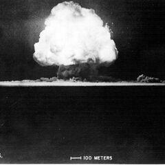 Слайд 8: вибух бомби (1945)