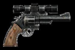 .44 magnum revolver with scope
