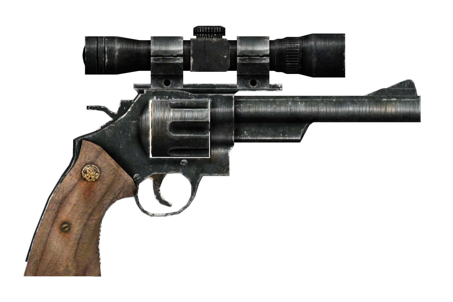 scoped 44 magnum fallout wiki fandom powered by wikia