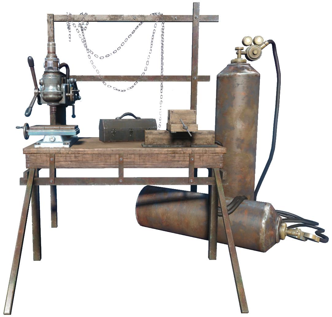 Weapons workbench (Fallout 4) | Fallout Wiki | FANDOM