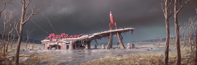 Fallout4 Concept RedRocket