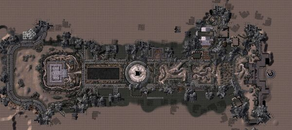 Fo3 The Mall map