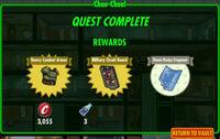 FoS Choo-Choo! rewards