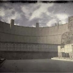 Hoover Dam, as it appears in the opening scene of <i>Fallout: New Vegas</i>
