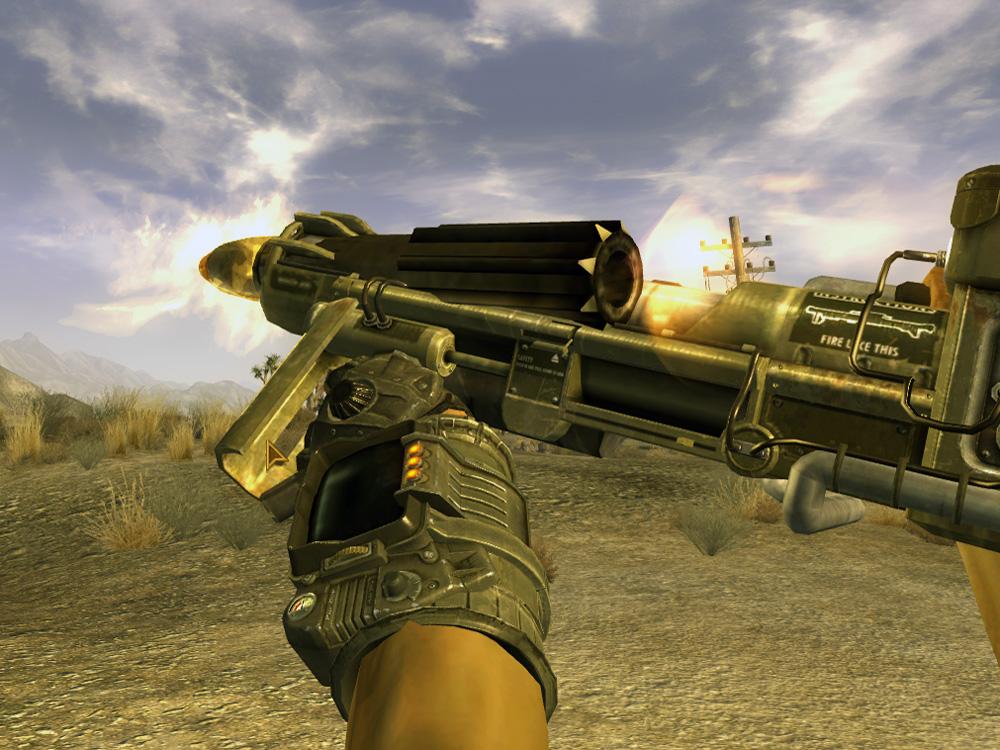 Missile launcher shot
