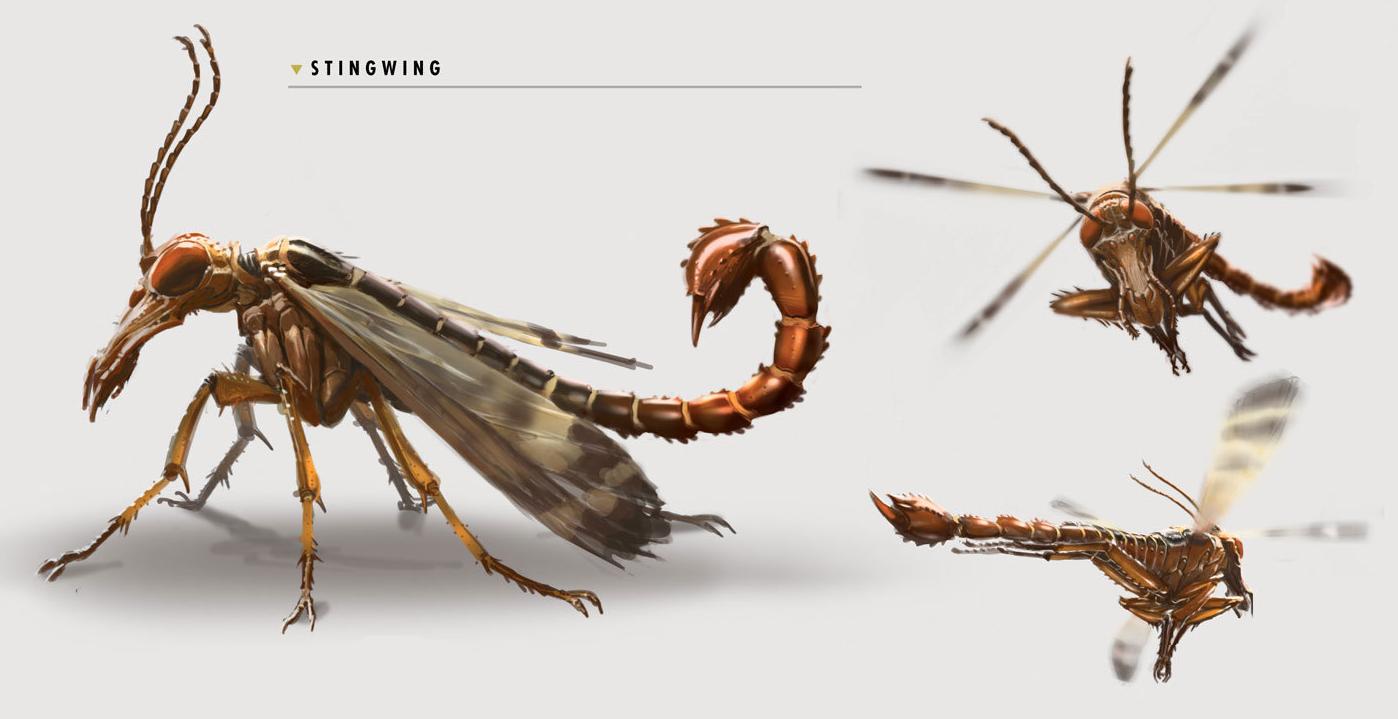 Stingwing concept art
