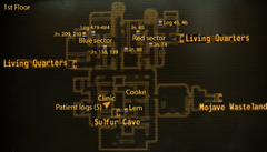 Vault 19 map 1st floor