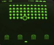 Zeta Invaders screen