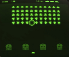 Zeta Invaders screen