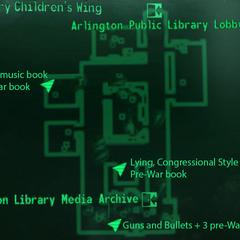 Карта Дитячого крила