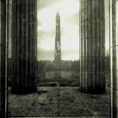 The Monument appearing in the <a class=