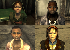 FO3 and FNV children