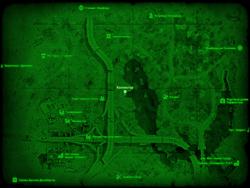 FO4 Коллектор (карта мира)