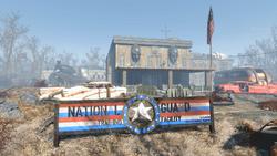FO4 National Guard training yard outside
