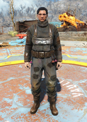Fo4fh - Black Fisherman's Overalls