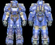 FO4CC T-60 power armor blue