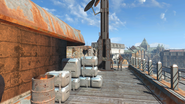 FO4 Cambridge Police station rooftop 4