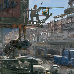 Fallout 3 concept art for <a class=
