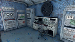 Fo4 Vault 81 (Old Curie terminal)