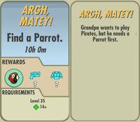 FoS Argh, Matey! card