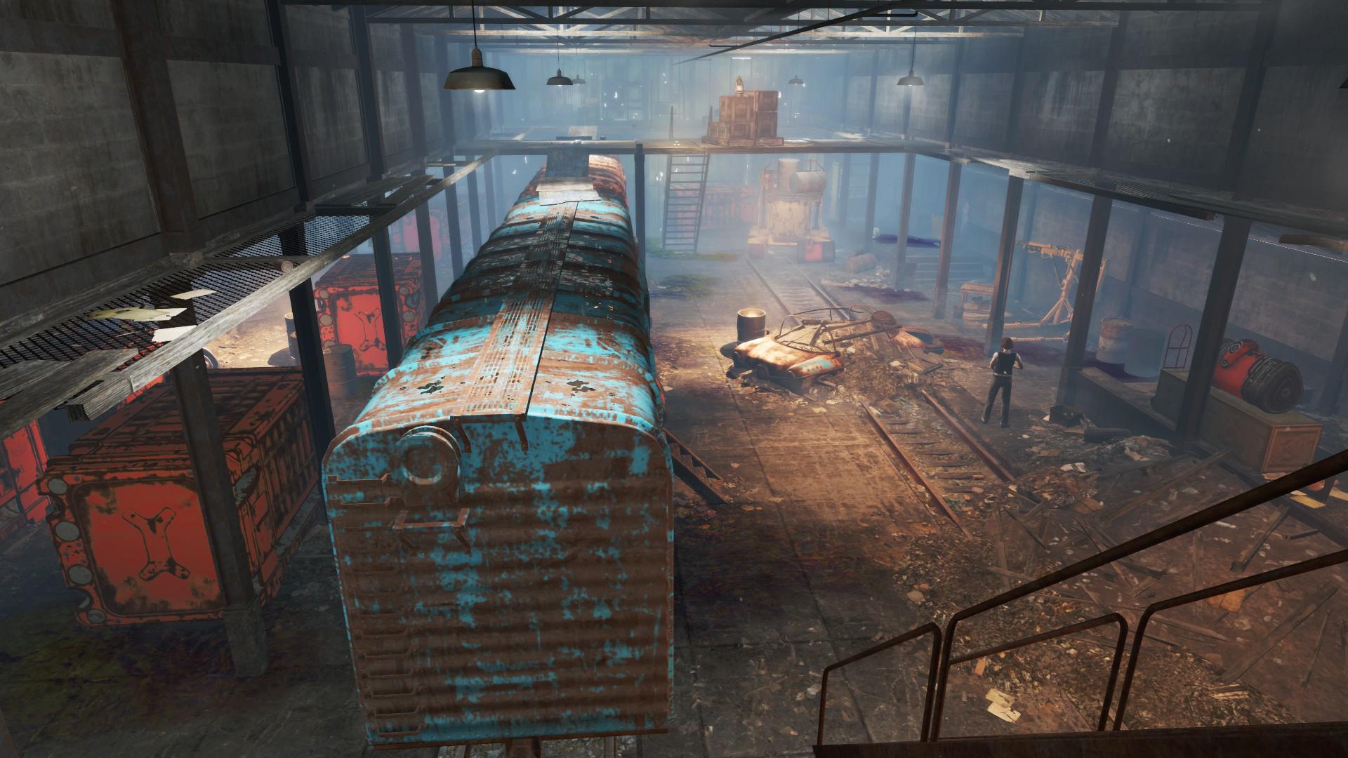 NH&M Freight Depot strongroom