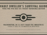 Vault Dweller's Survival Guide: Pocket Reference Edition