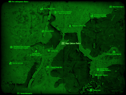 FO4 Пирс Гибсон-Пойнт (карта мира)
