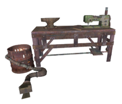 FO4 Armor workbench