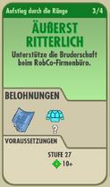 FOS - Aufstieg durch die Ränge - 3 - Äußerst Ritterlich - Vorne