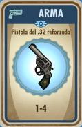 FOS Pistola del 32 reforzada carta
