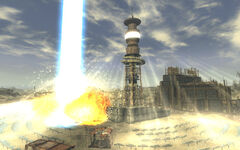 FNV screenshot Helios laser