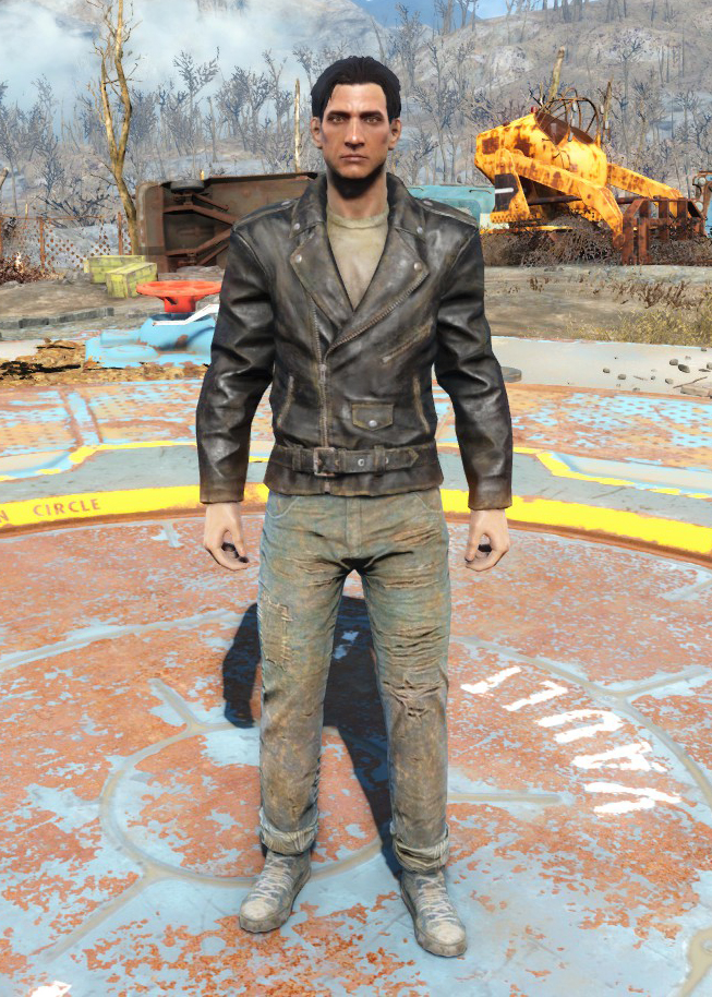 greaser jacket and jeans fallout wiki fandom powered by wikia
