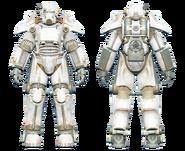 FO4CC T-45 power armor white