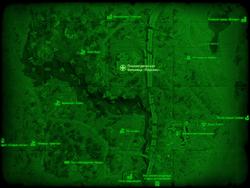FO4 Психиатрическая больница «Парсонс» (карта мира)
