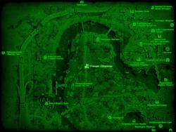 FO4 Станция «Оберленд» (карта мира)
