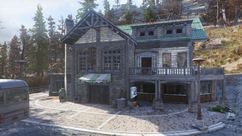 FO76 Sunnytop Ski Lanes base lodge