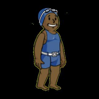 Чоловік в купальному костюмі